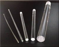clear, acrylic, round, rod, extruded, Lucite, plastic, sold, custom, sizes, diameters