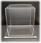 Clear Acrylic Dust Covers and Display Cases